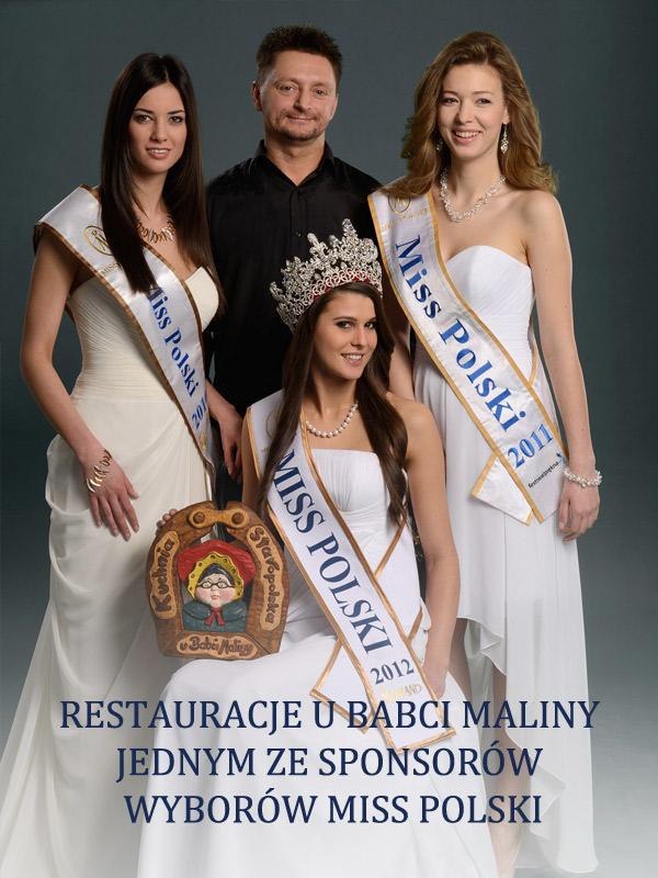 Babcia Malina jednym ze sponsorow wyborów Miss Polski