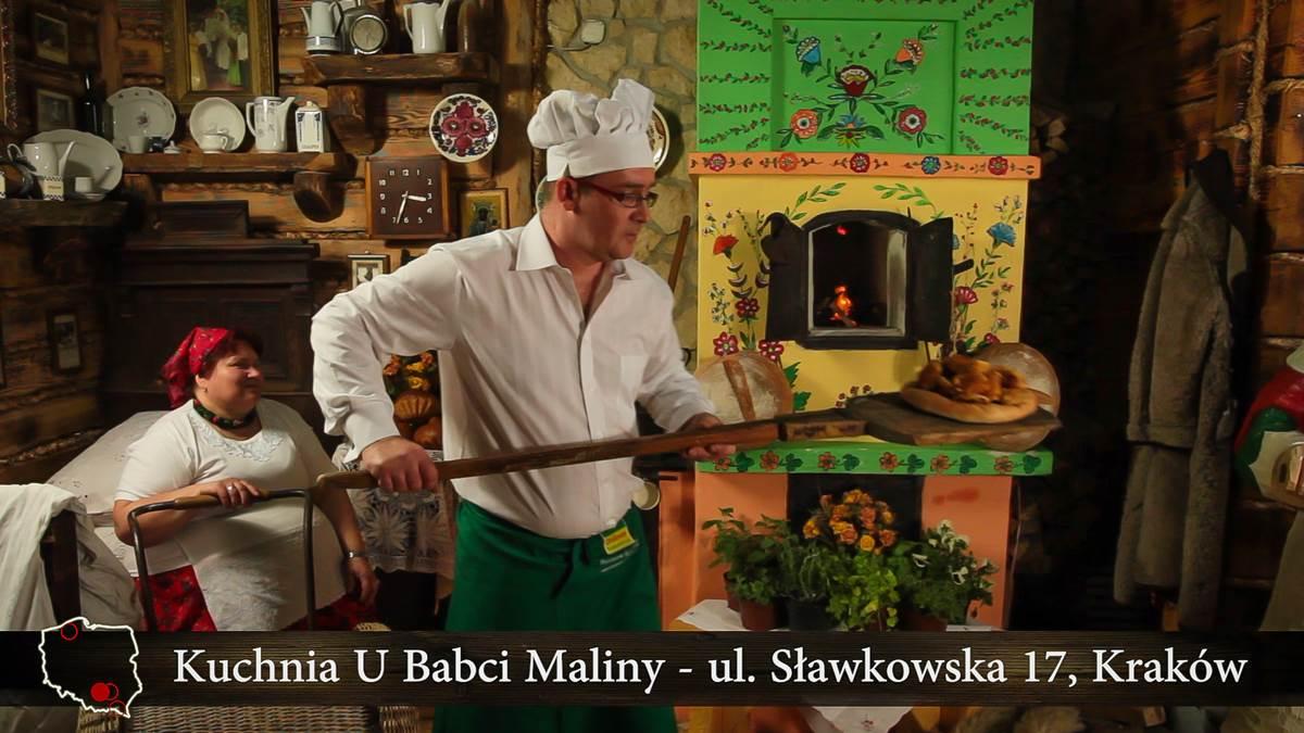 Kraków Sławkowska 17 Kuchnia U Babci Maliny